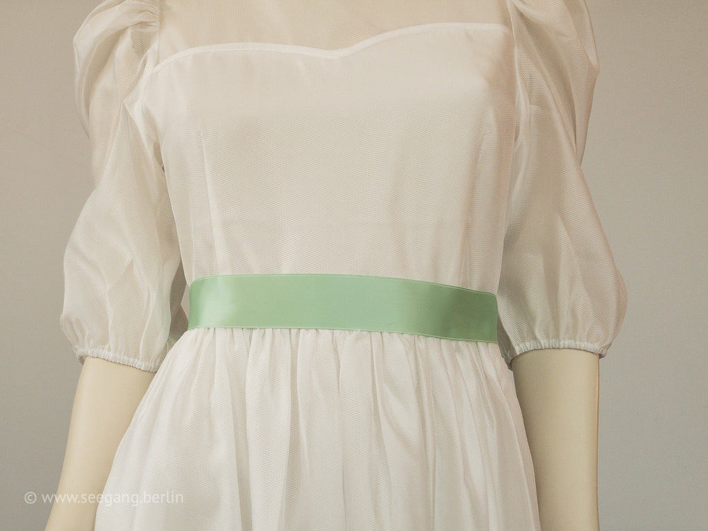 BRIDAL BELT IN MANY SHADES OF GREEN - SWISS QUALITY!