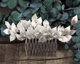 HAIR COMB - BRIDAL JEWELLERY FOR HAIRDOS IN GREEK GODDES STYLE © Seegang Berlin