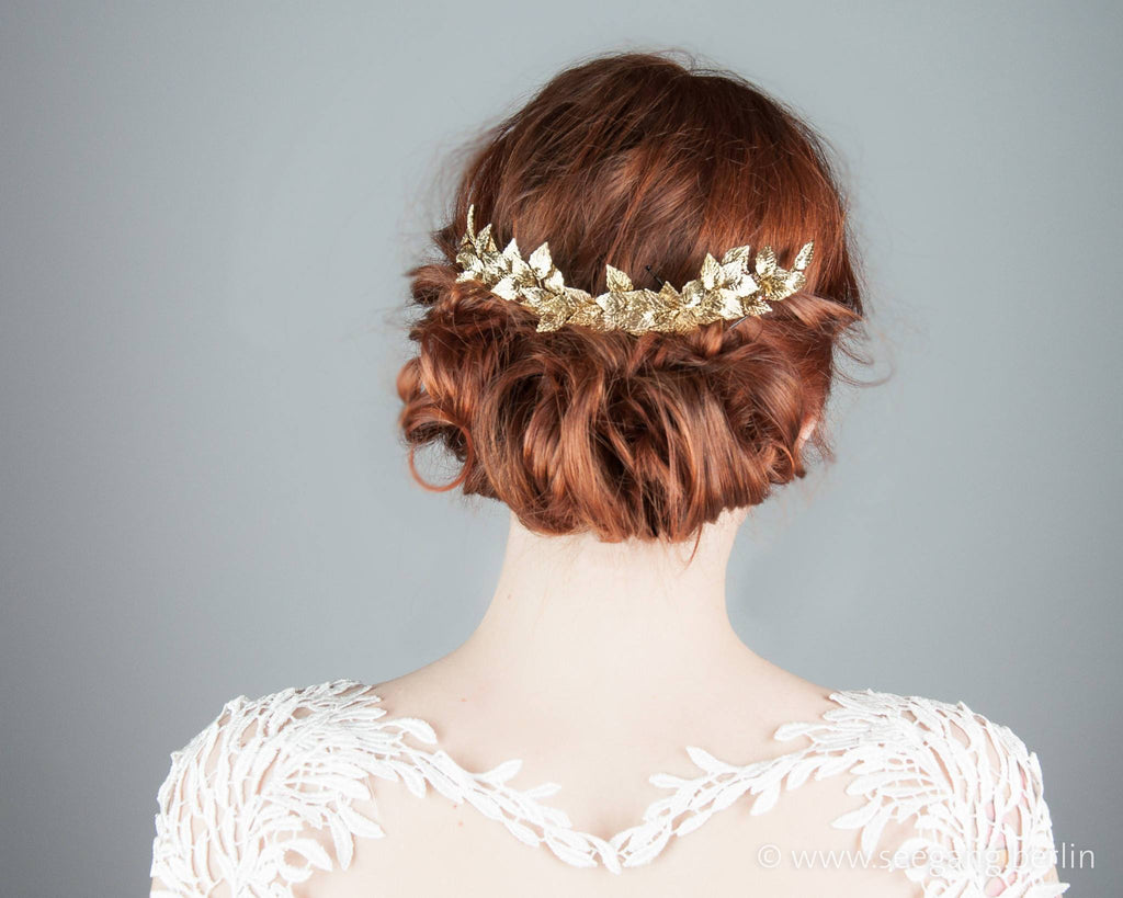 HAIR COMB - BRIDAL JEWELLERY FOR VINTAGE STYLE UPDOS © Seegang Berlin
