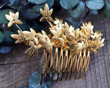 HAIR COMB - BRIDAL JEWELRY FOR FAIRY WOODLAND STYLE HAIRDOS © Seegang Berlin