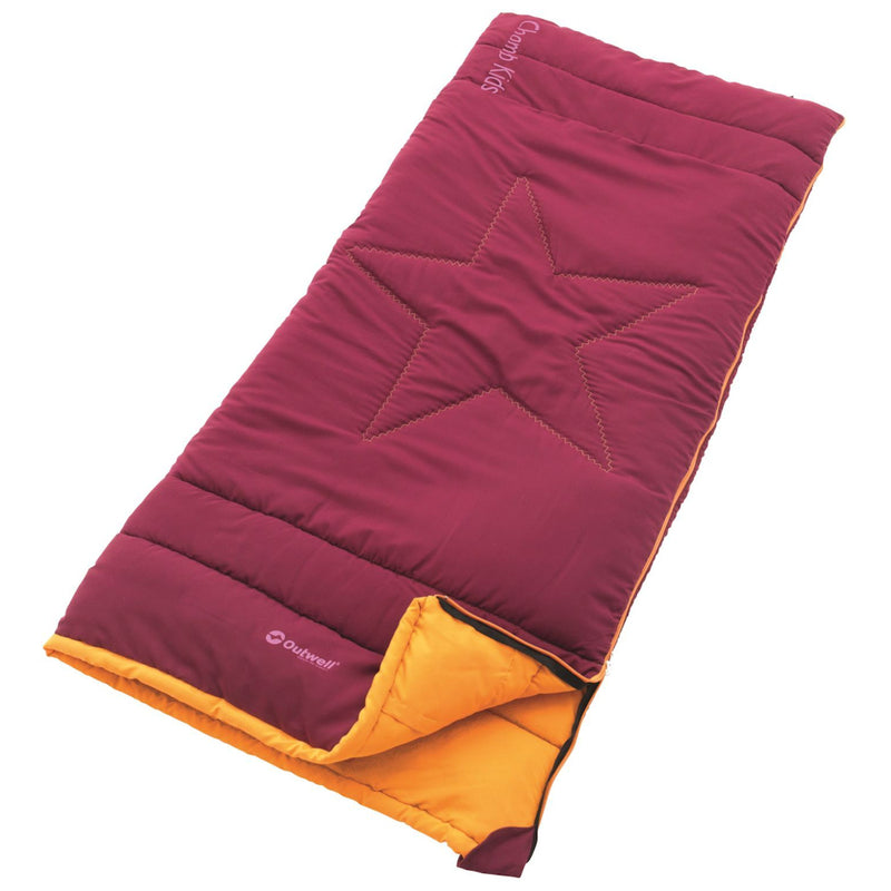 Outwell Champ Kids Red Sleeping Bag