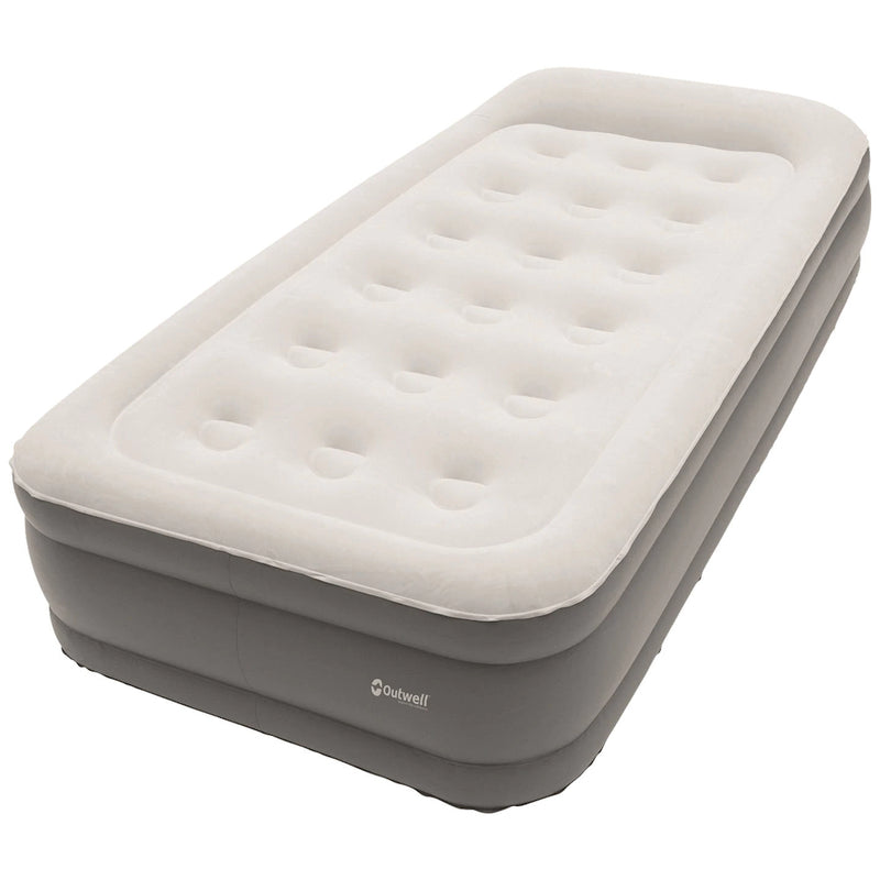 Outwell Flock Superior Single Airbed with Built in Pump