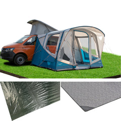 Vango Tolga Low Air Driveaway 2021 Moroccan Blue Awning Package