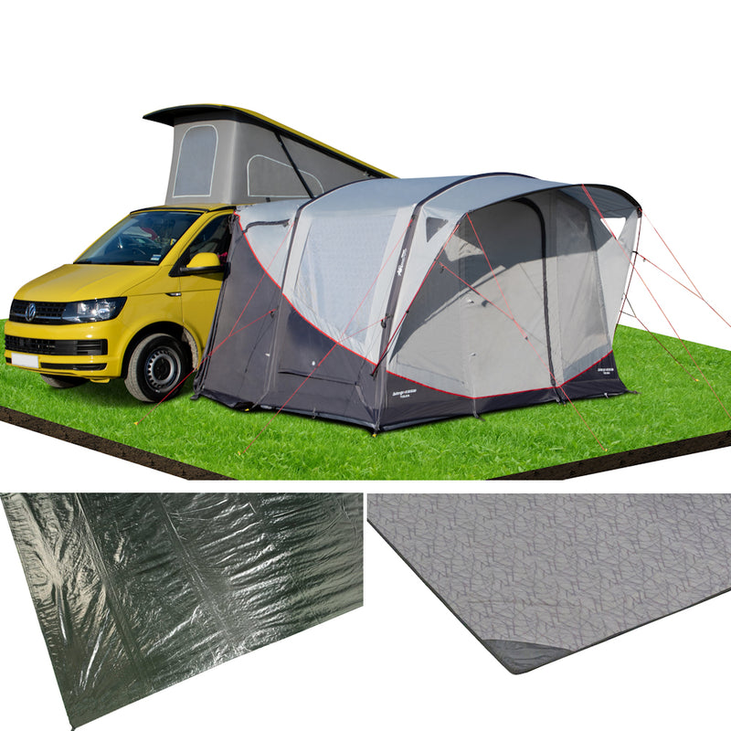 Vango Tolga Low Air Driveaway 2021 Grey Awning Package