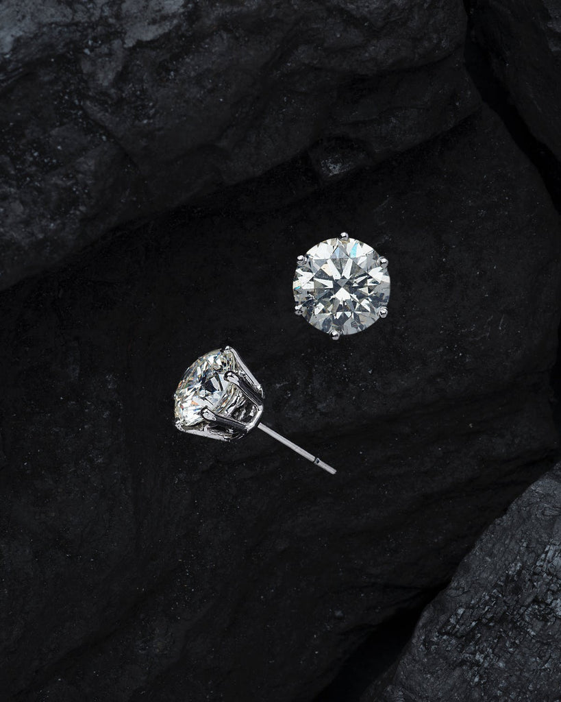 Orionz Solitaire Earrings