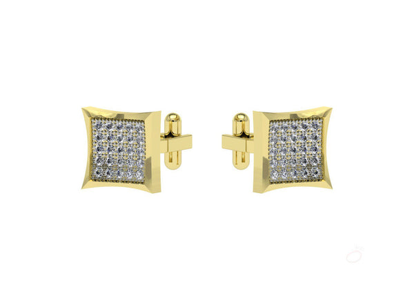 Inverted Grace Cufflinks For Him by Orionz Jewels