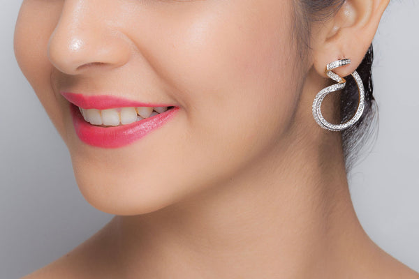 Diamond Hoop Earrings Online India