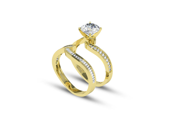 Classic Solitaire Diamond Ring For Her