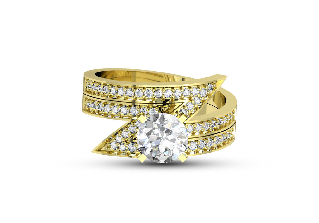 925 Sterling Silver Yellow Gold Plated
