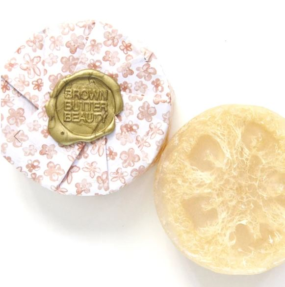 Grapefruit Ginger Loofah Soap Bar
