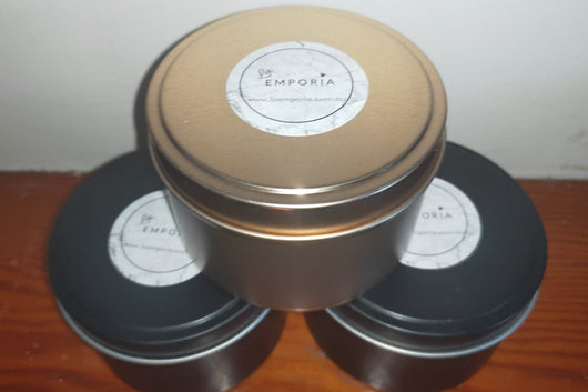 LARGE TRAVEL TIN SOY CANDLE COPPER - TUTTI FRUTTI
