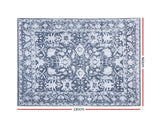 ARTISS SOFT VINTAGE FLOOR RUG 160 x 230 - BLUE/ WHITE