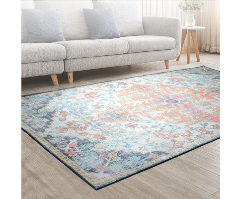 ARTISS PLUSH LARGE FLOOR RUG 200 x 290 - MULTI COLOUR