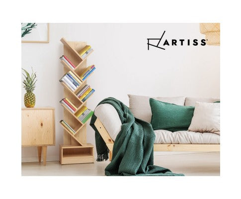 ARTISS TREE DISPLAY SHELF - NATURAL