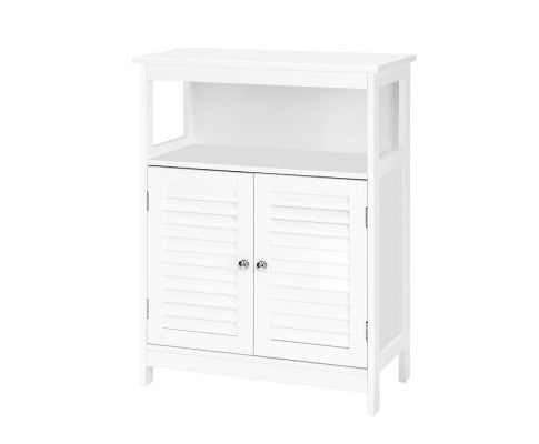 BUFFET SIDEBOARD STORAGE CUPBOARD - WHITE