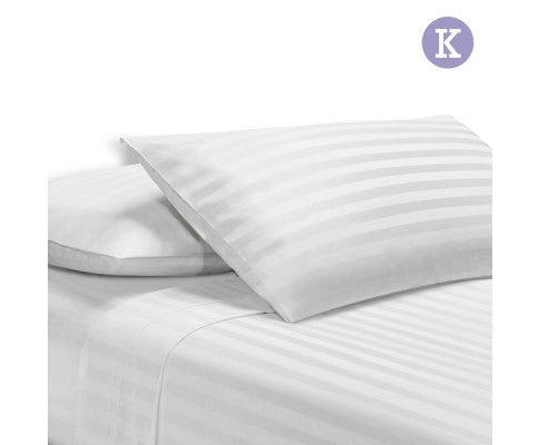 GISELLE BEDDING 4PCE BEDSHEET SET - KING