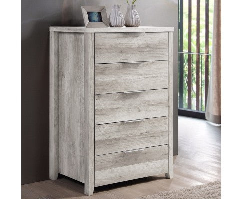 ALICE TALLBOY IN WHITE ASH