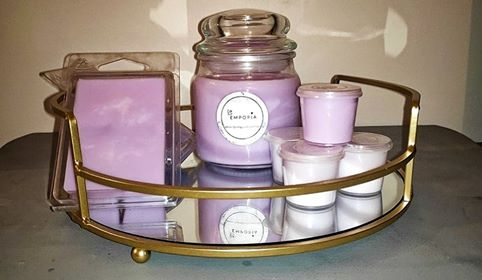 LARGE AROMA PREMIUM SOY CANDLE - LAVENDER