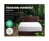 GISELLE BEDDING WATERPROOF BAMBOO MATTRESS PROTECTOR - DOUBLE