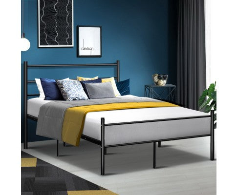 ARTISS MINIMAL METAL BED - QUEEN