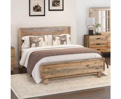 RUSTICA COLLECTION BED FRAME - QUEEN