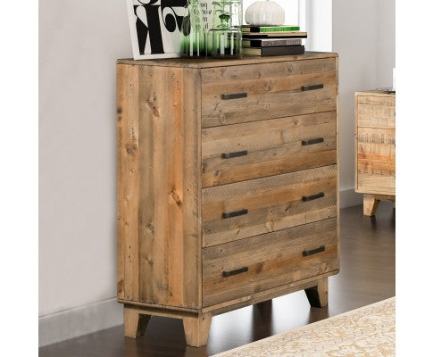 RUSTICA 4 DRAWER TALLBOY