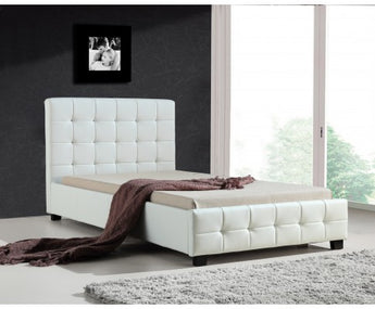 PU LEATHER BED FRAME - KING SINGLE