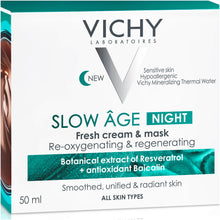 Load image into Gallery viewer, VICHY Slow Âge Night Cream and Mask 50ml
