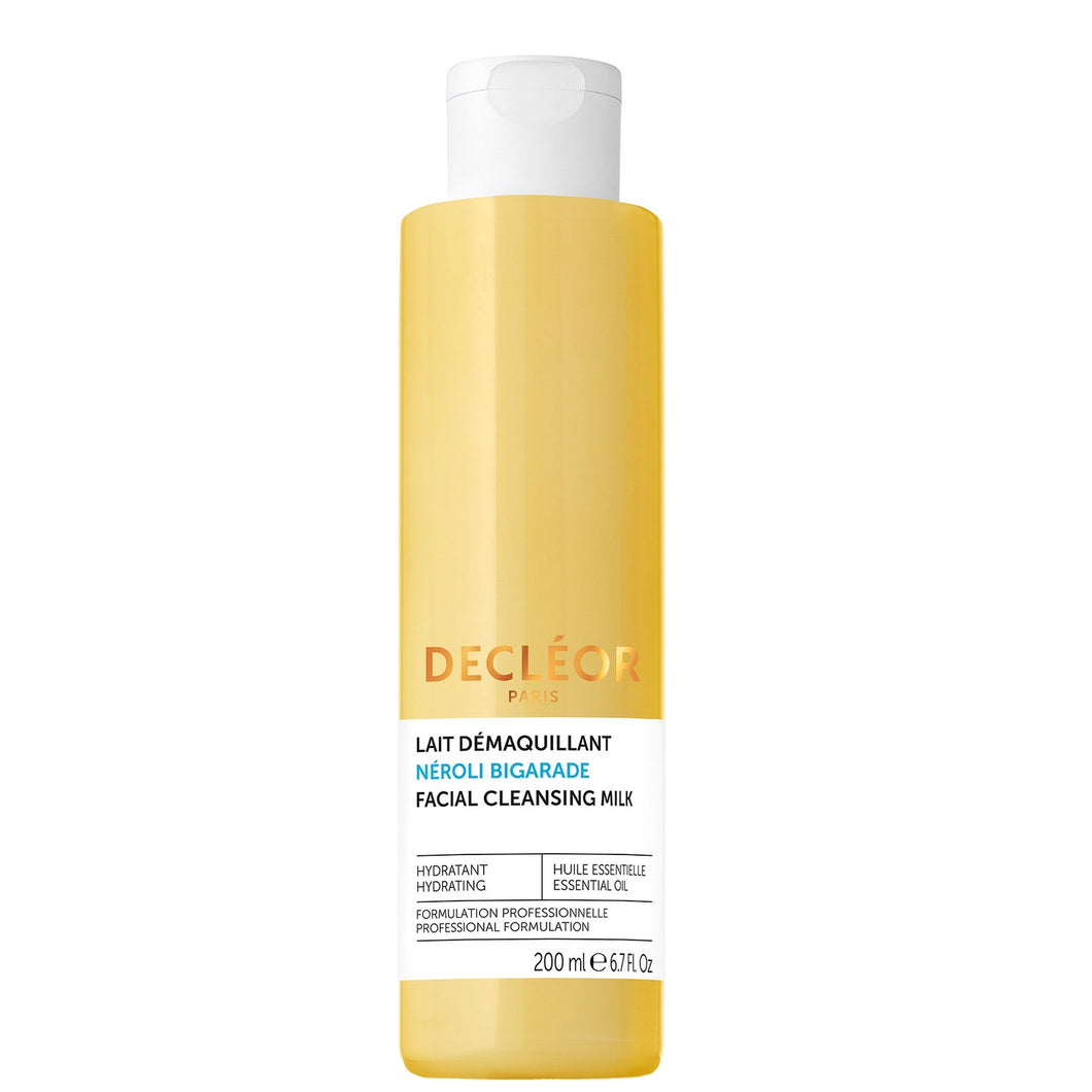 DECLEOR NEROLI BIGARADE HYDRATING FACIAL CLEANSING MILK