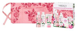 English Rose Bath & Body Set with Gardeners Apron By Yardley London
