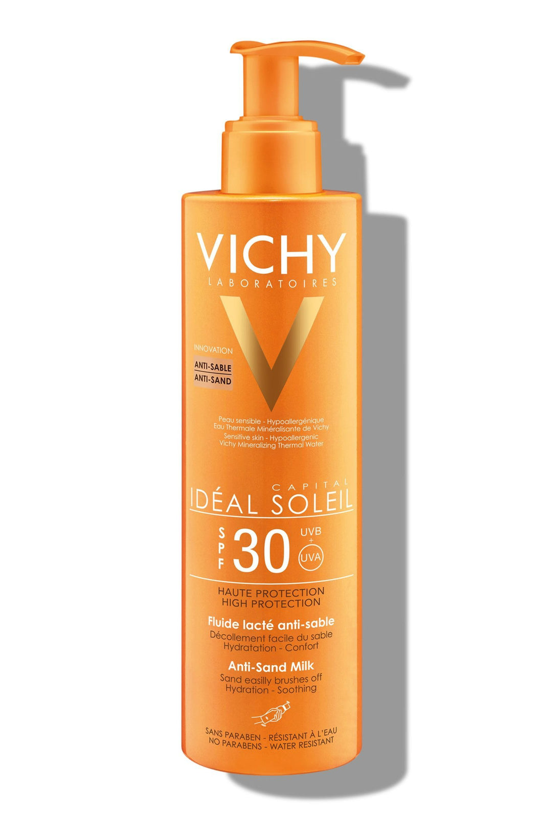 Vichy Sun Protective Anti-Sand Milk SPF 30 (200ml)