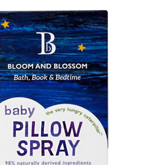 Bloom and Blossom Bath, Book & Bedtime: 'The Very Hungry Caterpillar' Baby Pillow Spray (75ml)