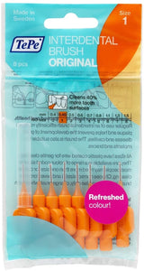 TePe Interdental Brush Orange Size 1 (8 pieces)