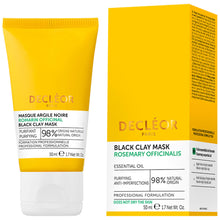 Load image into Gallery viewer, DECLEOR Rosemary Officinalis Black Clay Mask 50ml