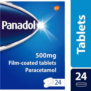 Panadol Pain Relief Tablets Paracetamol 500mg 24s