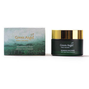 Green Angel Seaweed Face Mask with Aloe Vera & Avocado