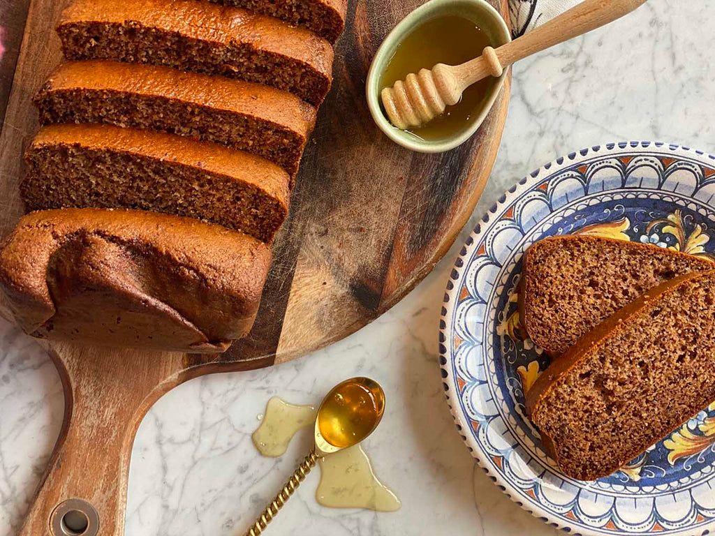 Delicious and Guilt Free Honey Bread by Honey Australia