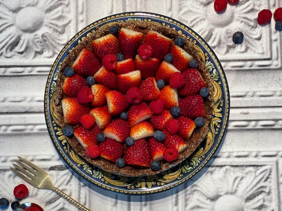 Delicious and Guilt Free Tart by Honey Australia