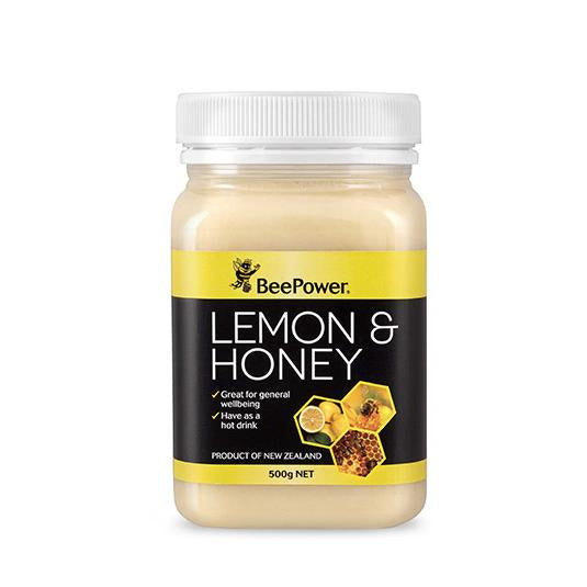 Beepower Lemon & Honey 500g New Zealand - Honey Australia