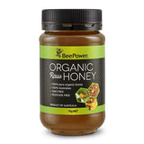 Beepower Organic Raw Honey 1kg - Honey Australia
