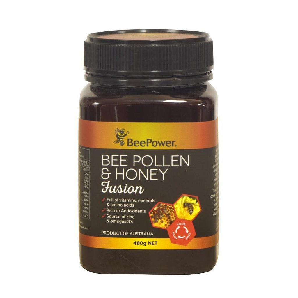 Pollen Honey Fusion BeePower 480g - Honey Australia