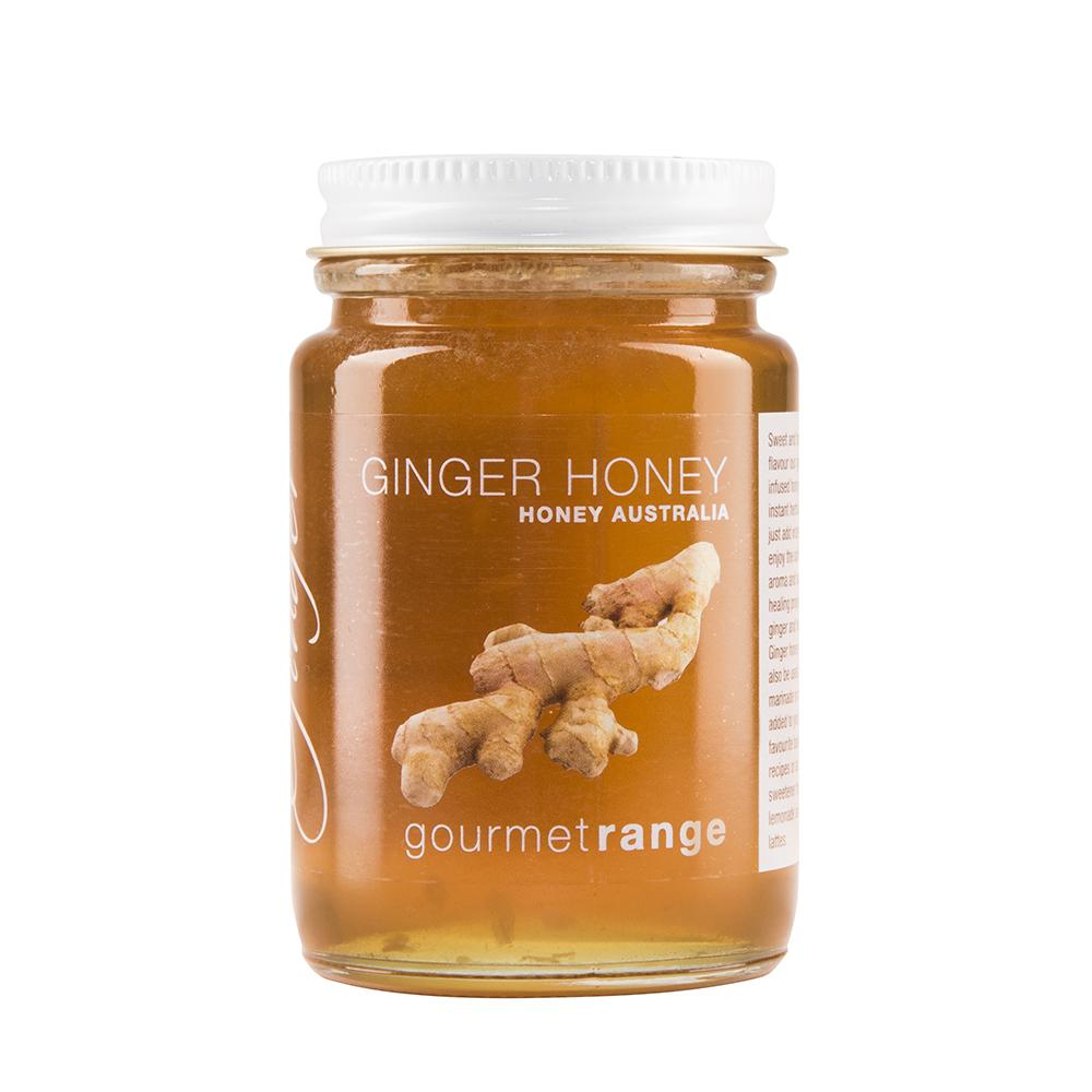 Ginger Honey 170g - Honey Australia