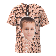 Custom Faces Mash Kid Funny T-shirt - MyFaceTshirt