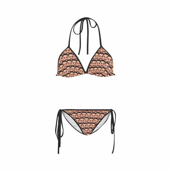Custom Face Mash Women's Sexy Bikini Suit