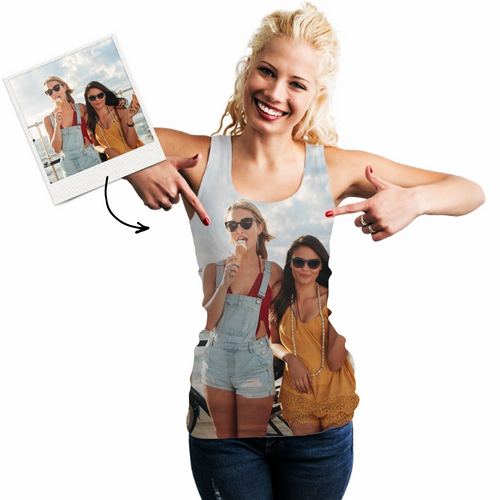 Custom Photo Vest Personalized Vest