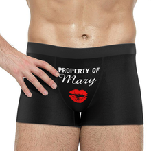 Men's Custom Property of Yours Boxer Shorts