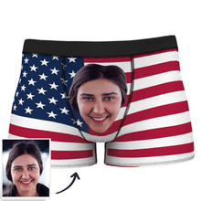 Men's Custom Flag Boxer Shorts