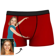 Men's Custom Measurement of Love Face Boxer Shorts