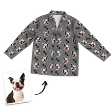 Custom Dog Photo Pajama Pants, Nightwear, Sleepwear
