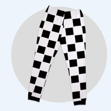 Custom Family Basic Pajama Pants With Chess Board